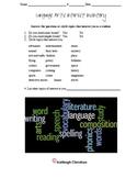 Language Arts Interest Inventory