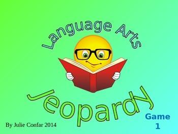 Language Arts Jeopardy