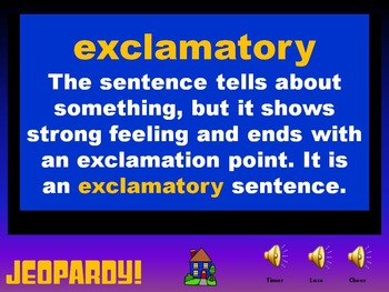 Language Arts Jeopardy: End of the Year Review 4th Grade