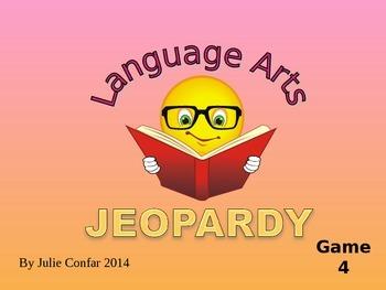 Language Arts Jeopardy Game 4