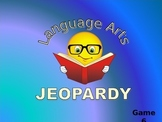 Language Arts Jeopardy Game 6