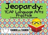 Language Arts Jeopardy Game - Grade 4