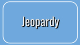 Language Arts - Jeopardy - Interactive Game