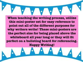 Language Arts: Just Exactly Why Do Writers Write?