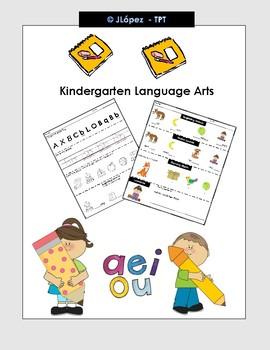 Language Arts - Kindergarten