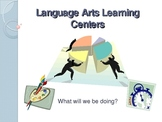 Language Arts Learning Centers - PowerPoint