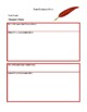 Language Arts Lesson Plans - Famous People Report, Poetry Night