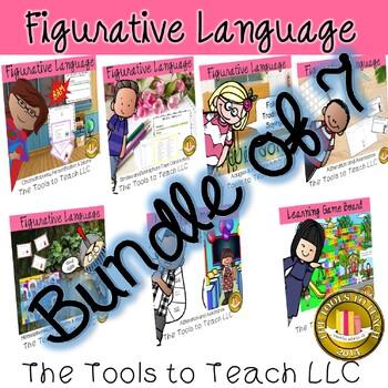 Bundle Similes Metaphors Homophones Adages Proverbs Alliteration Assonance