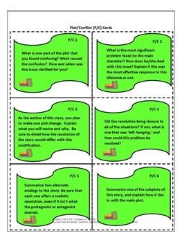 Reading Analysis - Literature Task Cards
