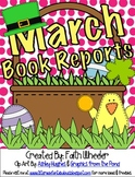 March Book Reports Freebie