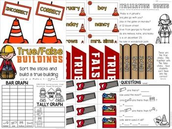 Language Arts & Math Construction Zone Packet