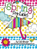 Spring Printables for Language Arts and Math