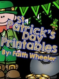 St. Patrick's Day Language Arts & Math Printables
