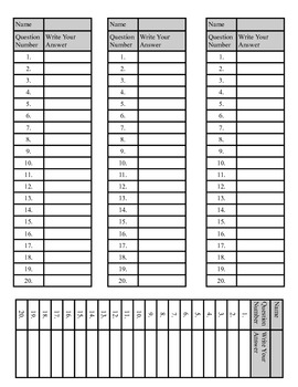 Language Arts Mixed Review Task Cards