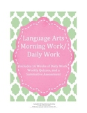 Language Arts Morning Work / Daily Work