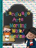 Language Arts Morning Work/Review 1