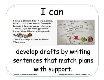 Language Arts Objectives AISD 1st 6 weeks