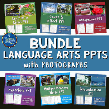 Language Arts PPTs Bundle