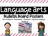 Language Arts - Parts of Speech - Bulletin Board Posters