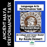 Language Arts Performance Task- The Ancient Maya with Editable Google Docs
