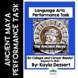Language Arts Performance Task- The Ancient Maya with Editable Google Docs
