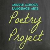 Language Arts Poetry Project