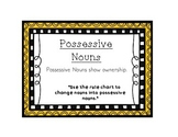 Language Arts Possessive Noun Task Cards Center