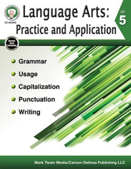 Language Arts: Practice and Application Grade 5 SALE 20% OFF 404242
