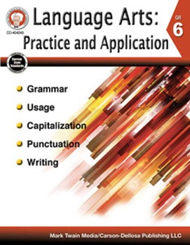 Language Arts: Practice and Application Grade 6 SALE 20% OFF 404243