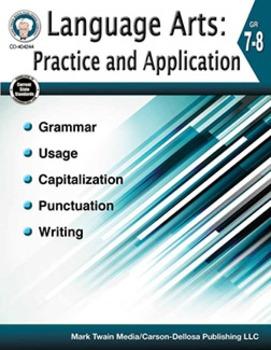 Language Arts: Practice and Application Grades 7-8 SALE 20% OFF 404244