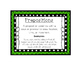 Language Arts Prepositions Task Cards Center
