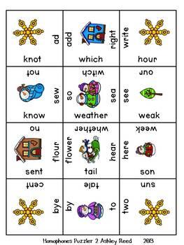 Language Arts Puzzlers