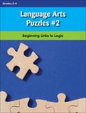 Language Arts Puzzles #2