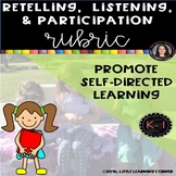 Retelling Listening Participation Rubric