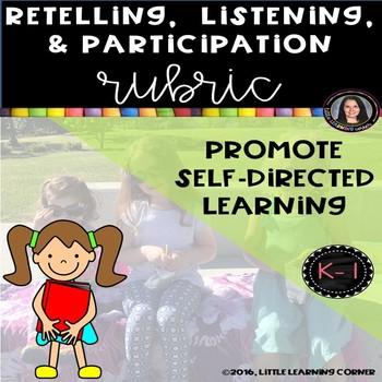 Retelling Listening Participation Rubric