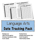 Language Arts/Reading Progress Monitoring and Data Collection Pack