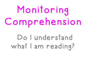 Language Arts: Reading - Reading Comprehension Strategies Classroom Posters