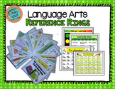 Language Arts Reference Rings: Classroom or Distance Learning
