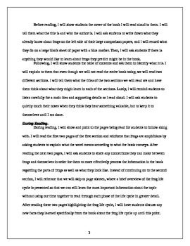 Language Arts-Retelling Non-Fiction Lesson Two