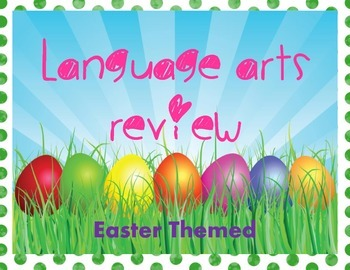 Language Arts Review, Easter Themed