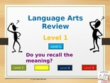 Language Arts Review PowerPoints (5 total!)