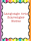 Language Arts Scavenger Hunt