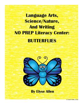 Language Arts, Science/Nature NO PREP Literacy Center: BUT