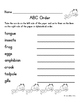 Language Arts, Science/Nature NO PREP Literacy Center: FROGS