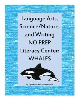 Language Arts, Science/Nature, and Writing NO PREP Literac