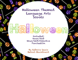 Language Arts Scoots (Halloween Scoots Grammar Scoots, Task Cards)