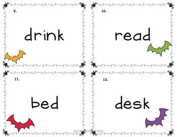 Language Arts Scoots (Halloween Scoots Grammar Scoots, Task Cards)