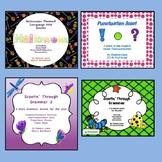 Language Arts Scoots (Task Cards) Bundle