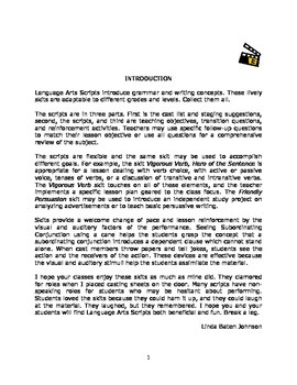 Language Arts Scripts-Body of a Paper