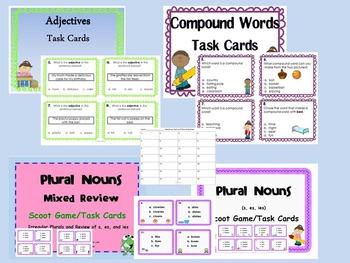 Language Arts Skills Task Card BUNDLE  172 Task Cards